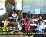 CLICK TO EXPAND Photo of pre-school children and teacher  in Kali  PNG